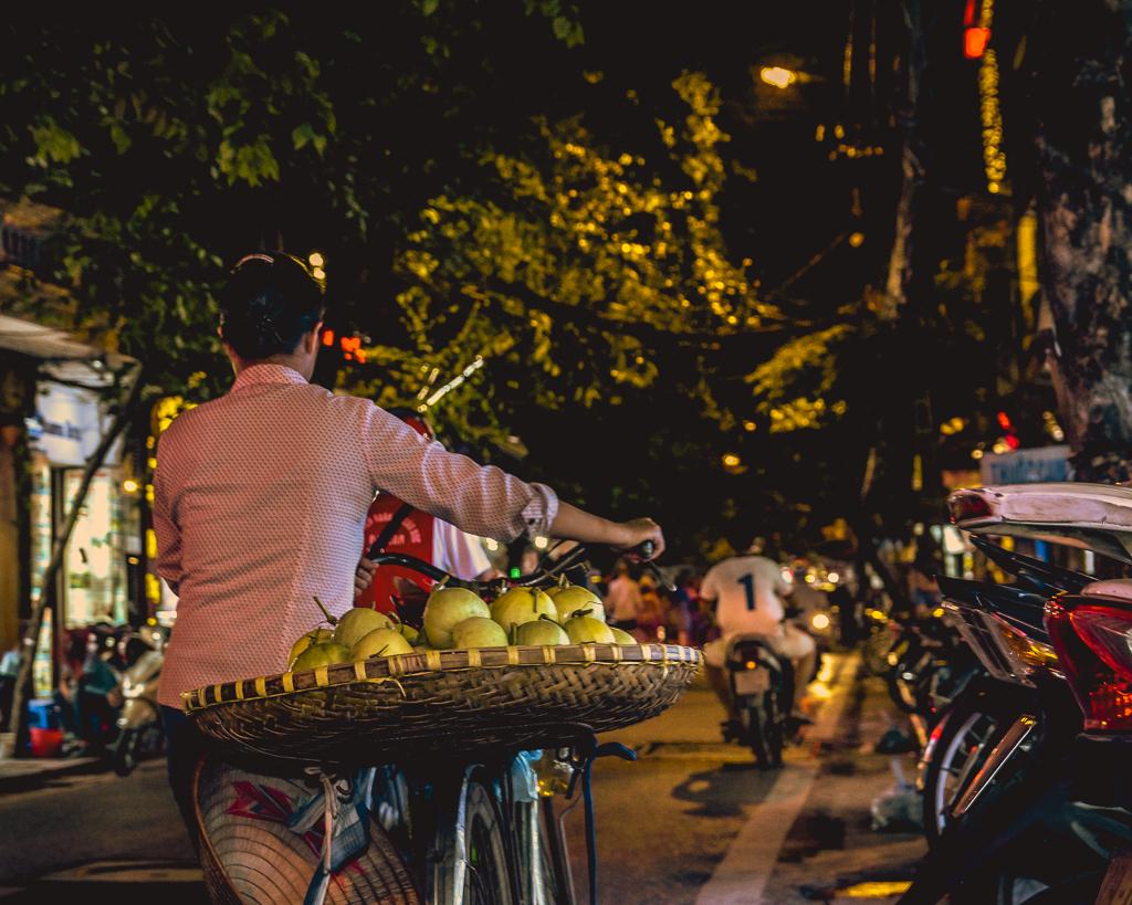 Bike Fruit - Weekend in Hanoi