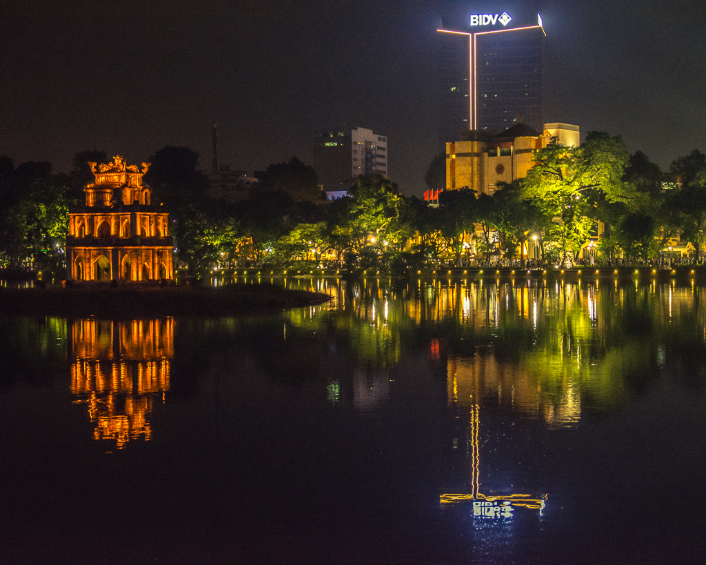 Hoan Kiem Reflections - Weekend in Hanoi